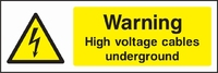 Warning and Electrical Hazard Sign WARN0011-1580