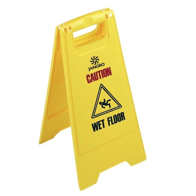 Jangro Wet Floor Sign Plastic