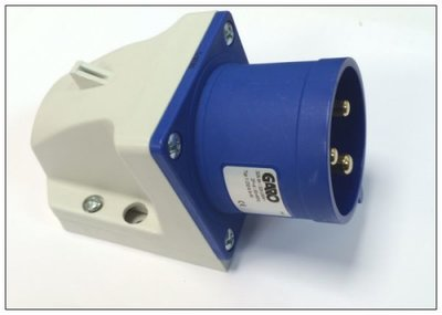 Garo II216-6S-RI Basic Wall Inlet 16A 230v 3P Blue IP44