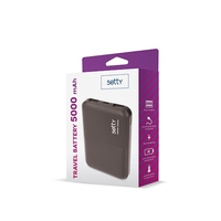 Setty 5000mAh Powerbank in Black