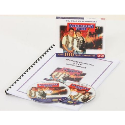 100 Party Favourites 2 x CD & Songbook