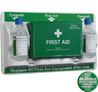 First Aid & Eye Care Station
