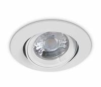 ONE Light White Flat Edge Adjustable Downlight
