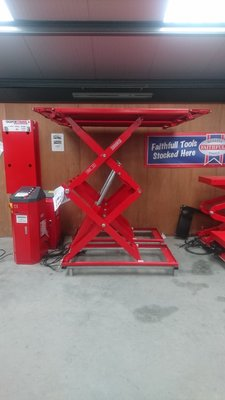 TARANTO Scissor Car Lift 3 Ton (Over-Floor Type)