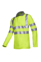 Sioen Eltow Flame retardant, anti-static hi-vis polo-shirt