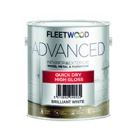 Fleetwood Advanced Gloss Brilliant White 2.5Ltr