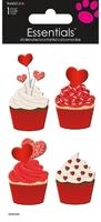 Valentine Cupcakes  Ess Lrg (P/Sng Min 6)