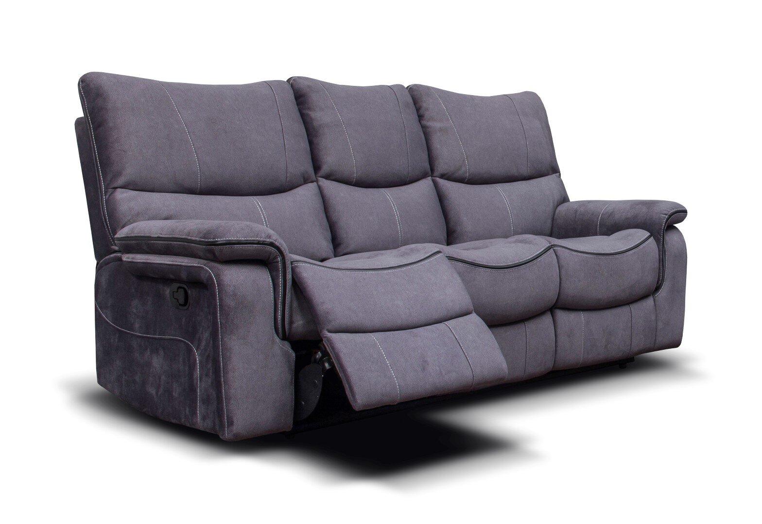 Emilio Fabric Sofa - Dark Grey