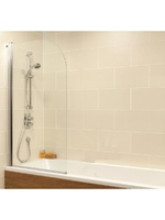 RADIUS SINGLE PANEL BATH SCREEN L800 X H1400