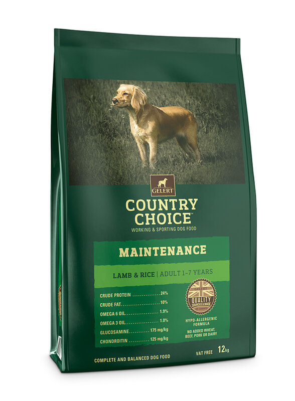 Gelert Country Choice Maintenance Lamb Adult Dog Food 12kg