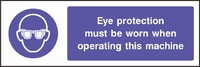 Mandatory and Personal Protective Equipment Sign MAND0003-0820