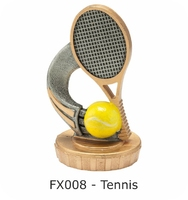 Tennis Flex Figure 75mm (Silver & Gold)