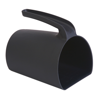Detectable fodder scoop (jug scoop)
