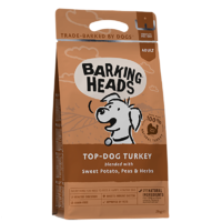 Barking Heads Adult Dog Top Dog Turkey 2kg