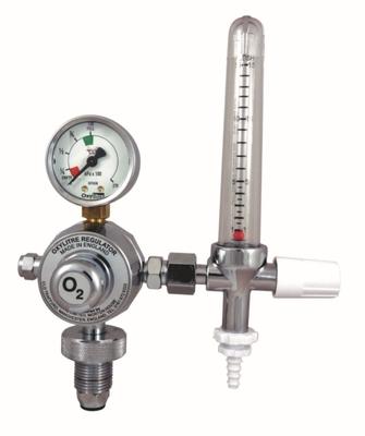 Oxygen Regulator/Flowmeter with O2 Flush