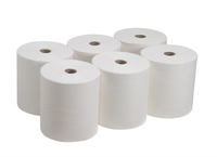 Hand Towel Roll White