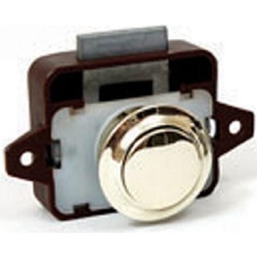 Large Push Button Lock (Gold)