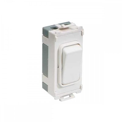 2way Retractable Switch Module White LV0701.1055