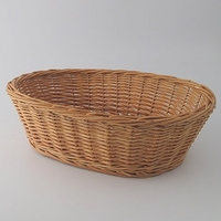 Large Oval Hamper Basket