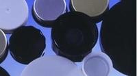 Caps Black Plastic Woodpulp Faced Pvdc W