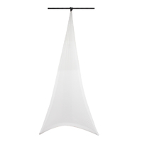 LEDJ Single Sided Lighting Stand Cover