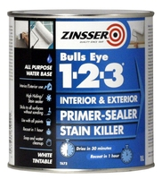 Zinsser Bulls Eye 1-2-3 Primer Sealer 1L