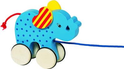 Elephant Basjo Pull along (P/Sng Min 1)