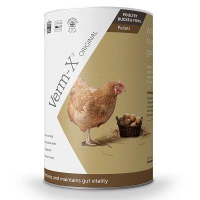 Verm X Pellets For Poultry 250g