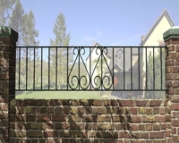 Ludlow Metal Railing 1.83m(W) x 480mm(H)