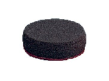 75MM BLACK COMPOUND PAD VELCRO