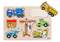 Building Site Vehicles Puzzle (P/Sng Min 1)