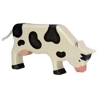 Holztiger Cow Grazing black