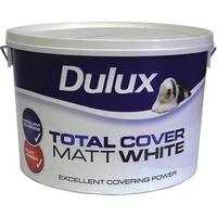 Dulux Total Cover Matt White  10 Litre