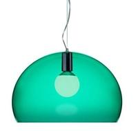 Kartell Fly Pendant K9 Sage Green C/W Lamp