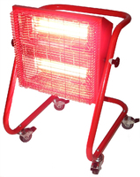 Bison Red Rad Heater