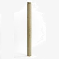 1.5M ' Q ' Deck Contemporary Newel