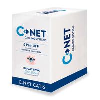C-NET CAT6 UTP Indoor LSZH Cable Purple- 305m Box