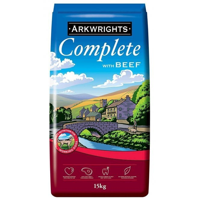 Arkwrights Complete Extra Beef Dog Food 15kg