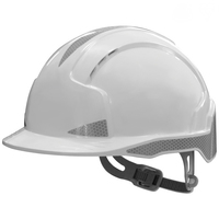Evolite CR2 Slip Ratchet Helmet, White
