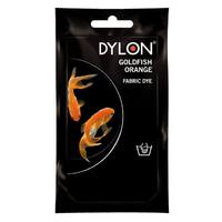Dylon Hand Dye Sachet Goldfish Orange - 55