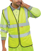 Yellow Flame Retardant Hi-Vis Vest