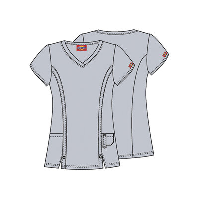 Dickies Xtreme Stretch Womens V Neck Tops
