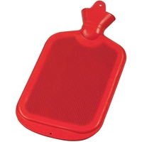 DOUBLE RIBBED HOT WATER BOTTLE