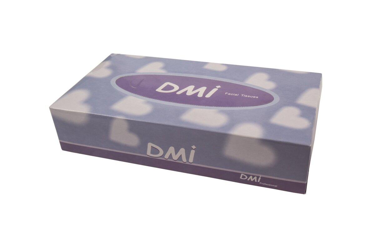 DMI Facial Tissues Singles 100pk