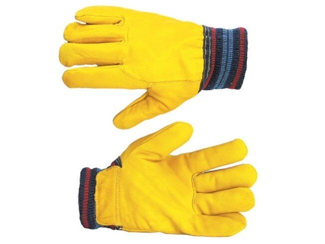 Lined Leather Freezer Glove (Pair)