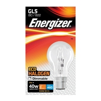 Eveready 28W(40W) Energy Saving Halogen GLS BC