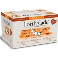 Forthglade Complete Adult Dog Tray Mixed Multipack 395g x 12