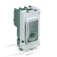 Flex Outlet Module Polished Brass|LV0701.1108