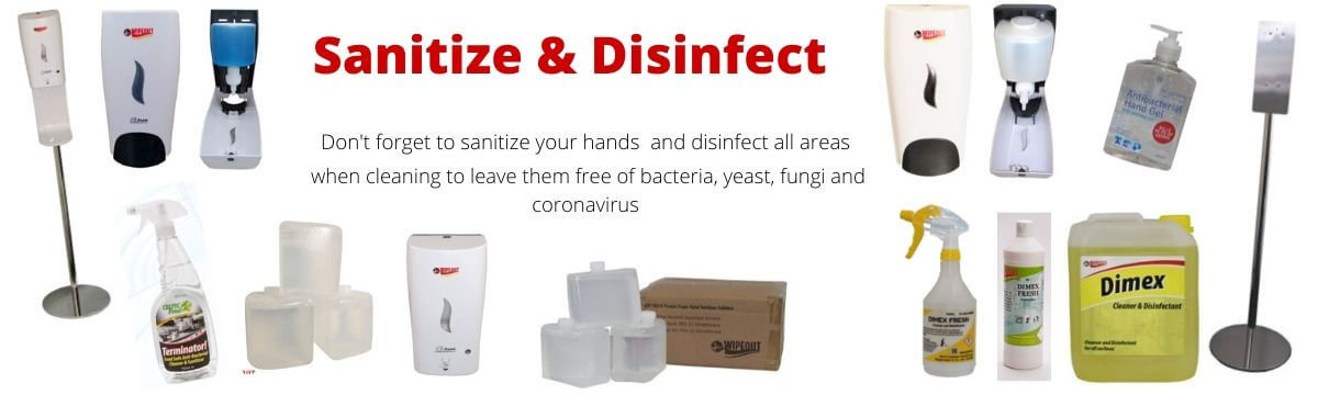 Sanitize & Disinfect