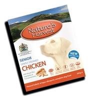 Natures Harvest Senior Dog - Chicken 395g x 10